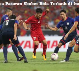 Beberapa Pasaran Sbobet Bola Terbaik di Indonesia